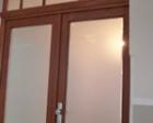 Satiniertes Glas Wohnungsabschlusstüren_1