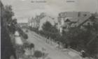 Die Weststrasse um 1908