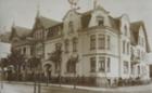Die Villa an der Weststrasse um 1908